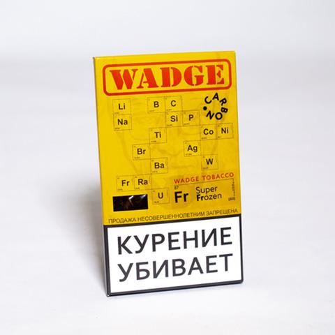 Табак WADGE CARBON 100gr SUPER FROZEN