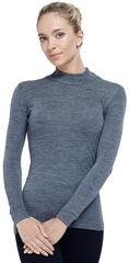 Терморубашка из шерсти мериноса Norveg Soft City Style Grey женская