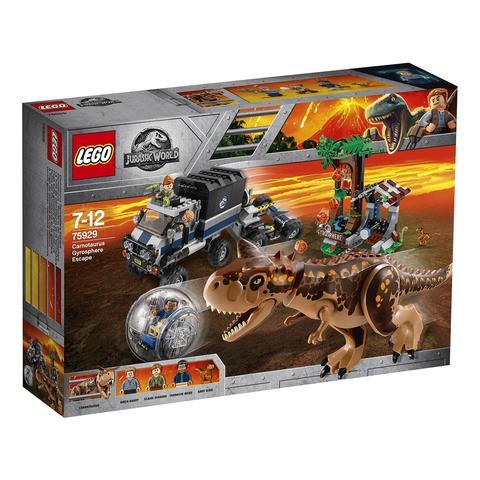 LEGO Jurassic World: Побег в гиросфере от карнотавра 75929 — Carnotaurus Gyrosphere Escape — Лего Мир юрского периода