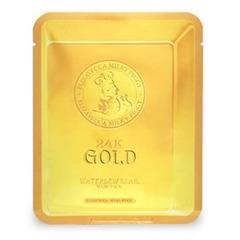 Elizavecca 24K Gold Water Dual Snail Mask - Тканевая маска с золотом и муцином улитки