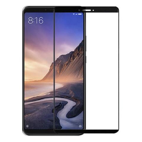 Защитное стекло 5D Full Glass для Xiaomi Mi Max 3 черное