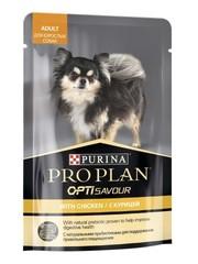 Purina Pro Plan ADULT пауч для взрослых собак с курицей 100 г 1 шт