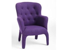 Кресло DUPEN 689V пурпурное