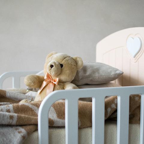 Кровать подростковая Феалта-baby Мечта, персик