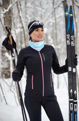 Женская тёплая лыжная куртка Nordski Active Black 2020