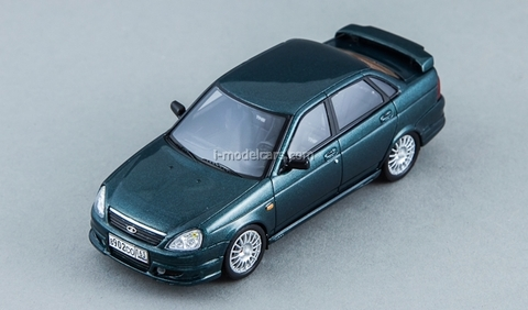Lada Priora TMS blue-green met DIP 1:43