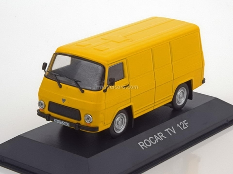 Rocar TV 12F yellow 1:43 DeAgostini Masini de legenda #17