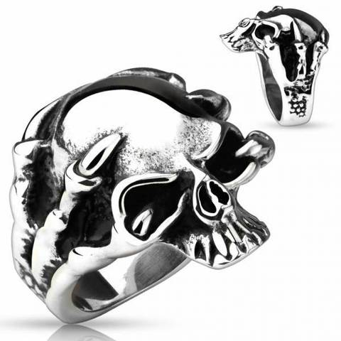 Перстень мужской из стали