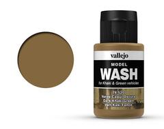 Dark Khaki Green Wash