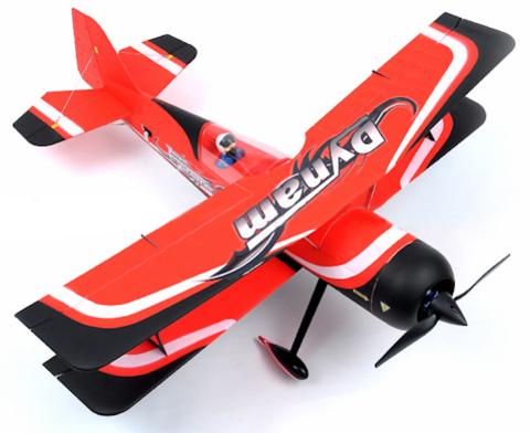 Модель самолёта DYNAM Pitts model 12 RTF (код:DY8947)