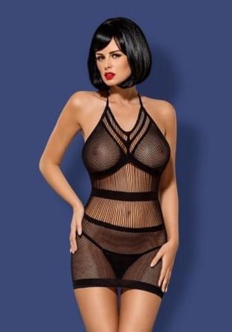 Платье-сетка D115 (Obsessive)