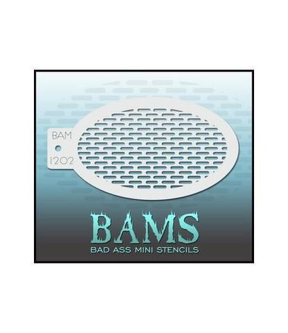 Трафарет BAMS 1202