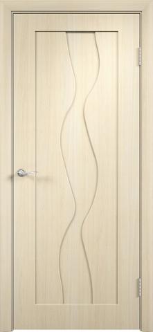 Дверь Верда Вираж, цвет беленый дуб, глухая