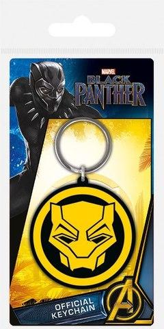 Брелок силиконовый Черная Пантера