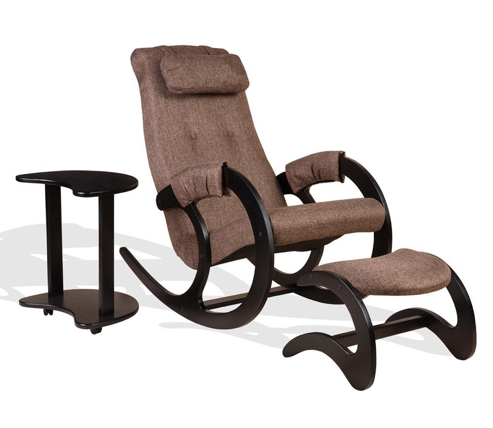 """Кресла качалки Комплект мебели """"Блюз"""" 3 в 1 Экоткань bluz-brown-3v1.jpg"""