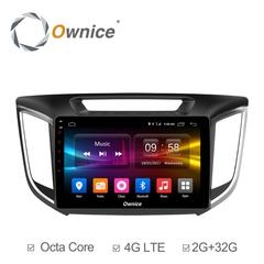 Штатная магнитола на Android 6.0 для Hyundai Creta 16+ Ownice C500+ S1701P