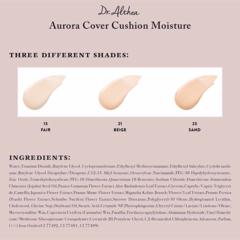 Тональный увлажняющий кушон для обезвоженной кожи (с запасным блоком в комплекте) / Dr. Althea Aurora Cover Cushion Moisture