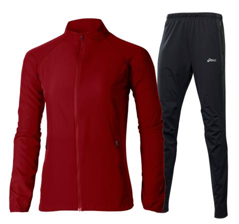 ASICS WOVEN WINDBLOCK женский костюм для бега красный