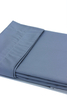 Постельное белье 2 спальное евро Caleffi Raso серое/серебристое