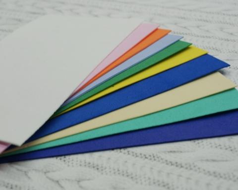 065-7248 Набор картона, 20 листов (5*10 см)