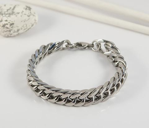 BM386 Стильный мужской браслет цепь из стали (21 см)
