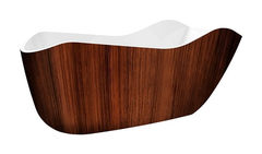 Акриловая ванна Lagard TEONA Brown Wood 172х79 см
