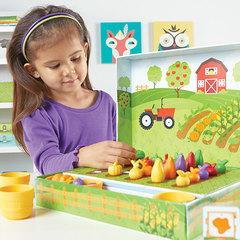 Развивающая игра Выращиваем овощи, Learning Resources