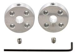 Втулки на вал мотора (⌀ 5 мм, пара)