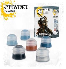 Citadel Paints: Space Wolves