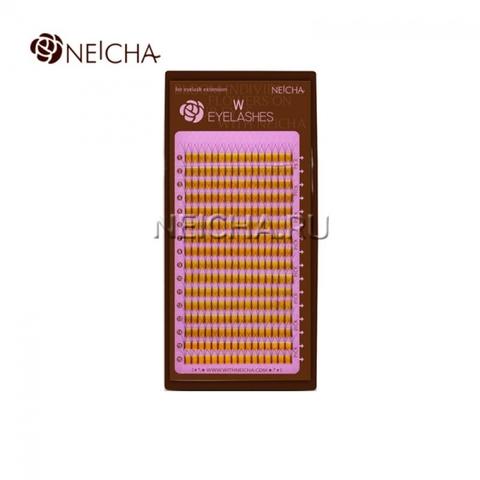 Ресницы NEICHA тройные W-тип (отдельные длины)