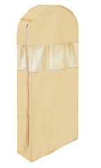 чехол для шуб lux длинный 130х60х18 см, sand