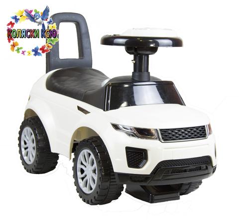 Машинка-каталка Range Rover белый
