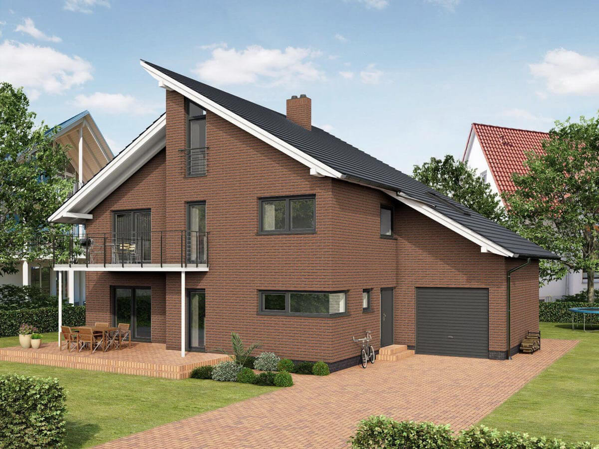 Feldhaus Klinker - R214NF9, Classic Bronze Mana, 240x9x71 - Клинкерная плитка для фасада и внутренней отделки