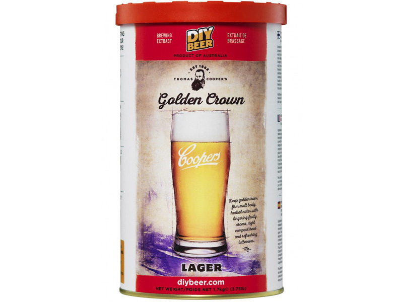 Экстракты Солодовый экстракт COOPERS Thomas Coopers Golden Crown Lager 1,7 кг 74_P_1482242125388.jpg