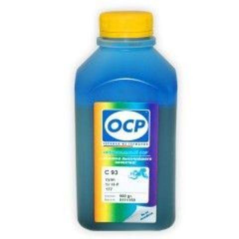 Чернила OCP C 93 Cyan для картриджей HP 177/85/78/57/141/141XL, 500 мл