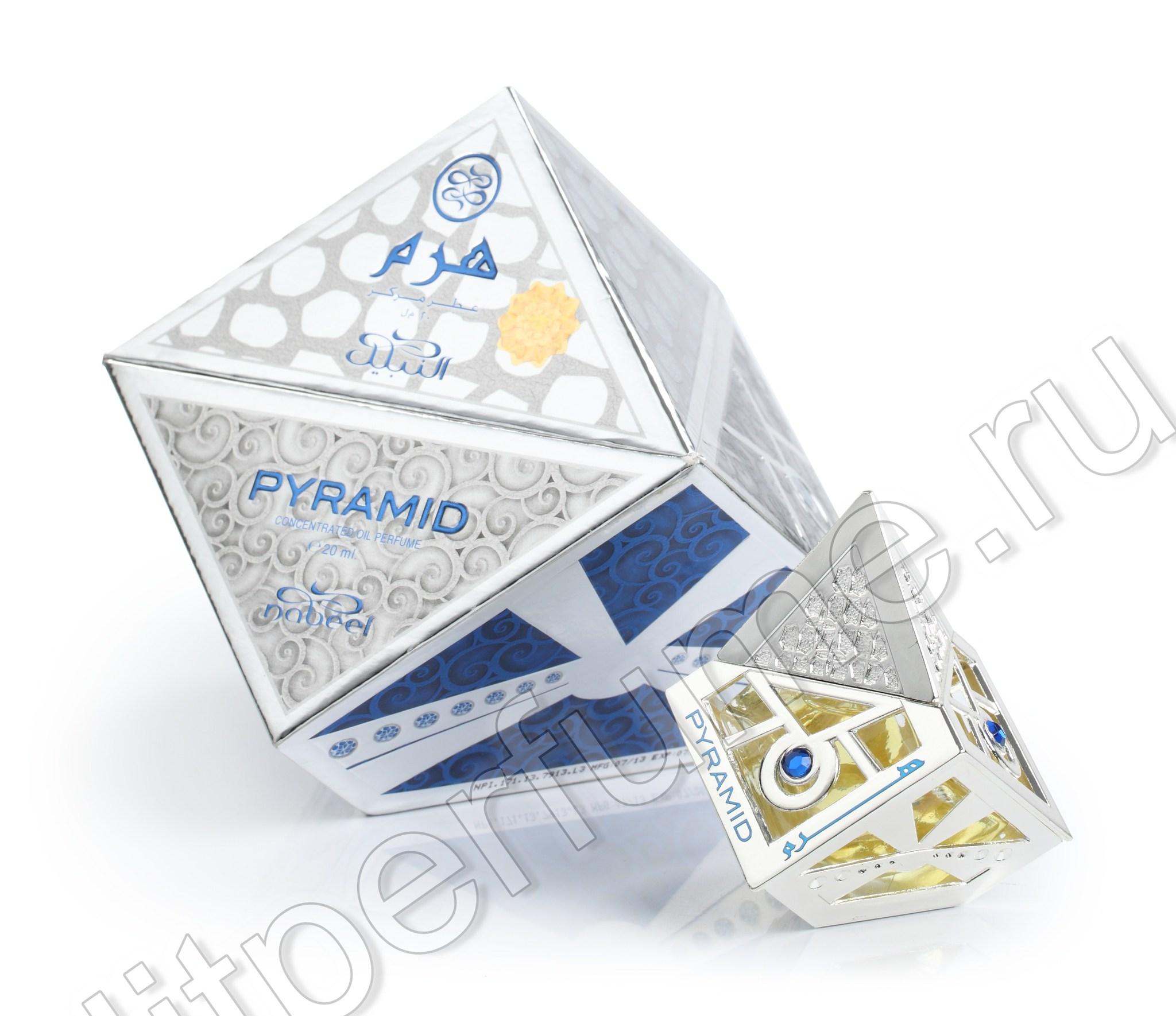 Арабские духи Pyramid Пирамида 20 мл арабские масляные духи от Набиль Nabeel Perfumes