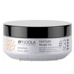 Indola Innova Texture Rough Up - Крем-воск для создания матовых укладок