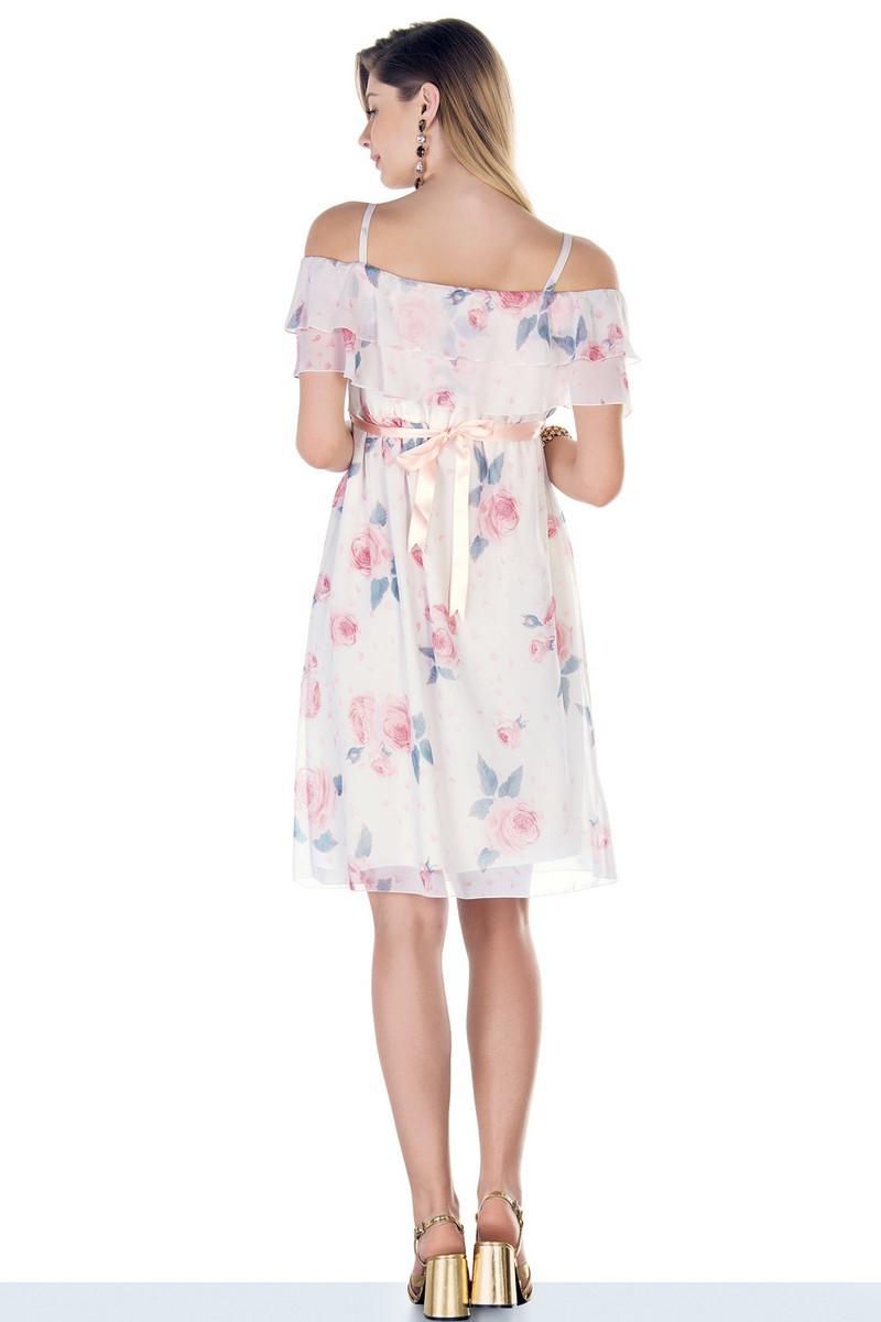 Платье 09533 цветы