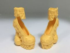 Туфли желтые для кукол Эвер Афтер Хай и Монстр Хай