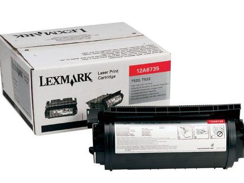 Картридж для принтеров Lexmark T520, T522, X522 черный (black). Ресурс 20000 стр (12A6735)