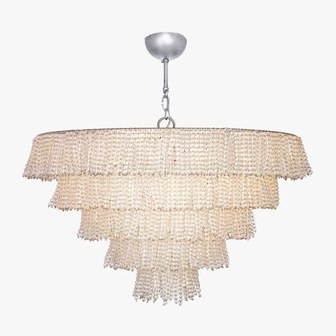 replica light  PEARL TIERED CHANDELIER by BELLA FIGURA
