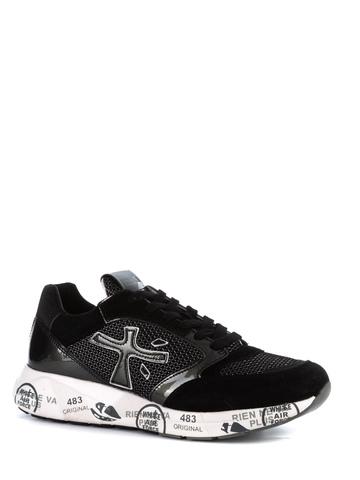 Комбинированные кроссовки Premiata Zac-Zac 4042
