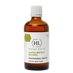 Holy Land Alpha-Beta & Retinol Professional Peeling - Комбинированный пилинг на основе фруктовых кислот