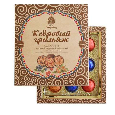 Кедровый грильяж Ассорти Сибирский кедр купить в Ростове