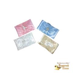 Лента с брошью для новорожденного (0+) 181125-Т153