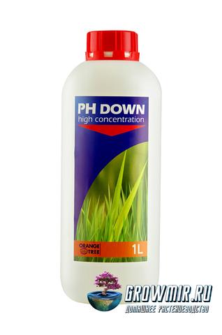 Регулятор кислотности pH Down от Orange tree 1л