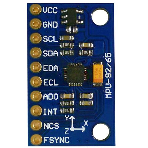 9-осевой сенсорный модуль GY-9250 (MPU-9250)