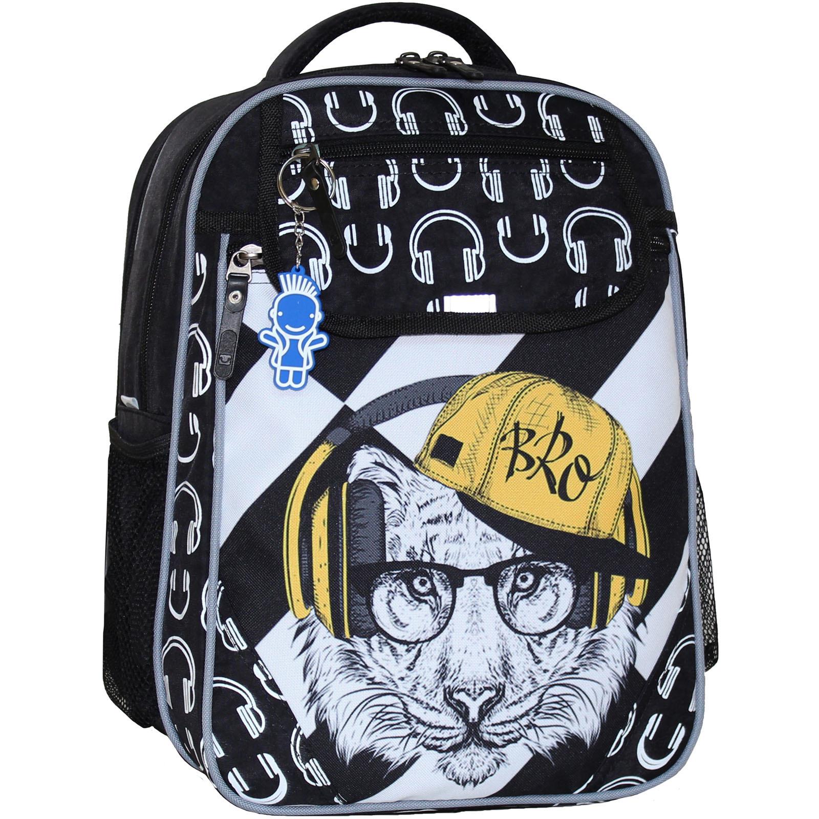 Школьные рюкзаки Рюкзак школьный Bagland Отличник 20 л. черный 175к (0058070) IMG_5109_175к_.JPG
