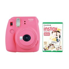 Fotoaparat - Fujifilm instax Mini 9 Camera with 10 Shots -  Pink