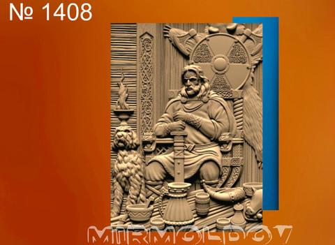 Силиконовый молд № 1408 Картина Ярл